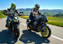 Yamaha MT-10 VS Kawasaki Z1000R: 2 nude con 300 cavalli