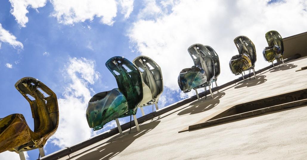 Vespa e arte, con Warhol e D'Auria al Gallery Hotel Art di Firenze
