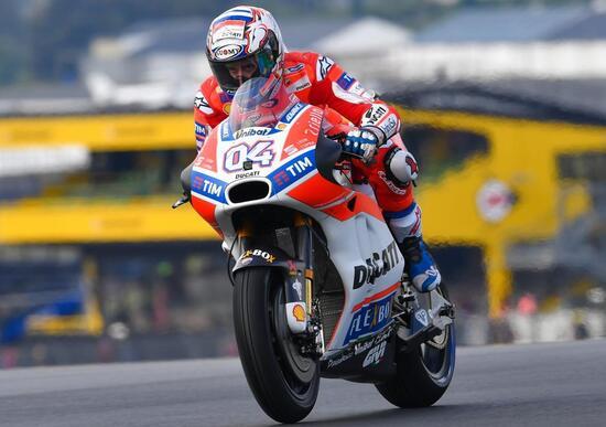 MotoGP Le Mans Prove 2 Andrea Dovizioso al top