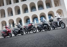 Gamma scooter Yamaha 2017 (con un infiltrato): tutta mia è la città