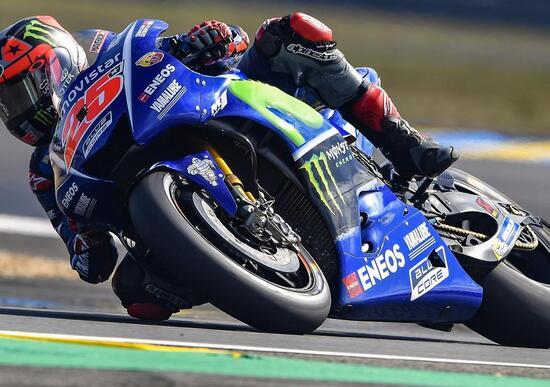 MotoGP 2017. Vinales vince il GP di Francia. Rossi out