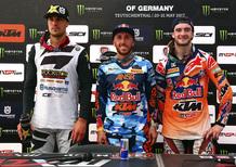 Motocross 2017. Interviste dal podio, il GP della Germania