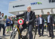 Le bici elettriche made in Italy. Inaugurato lo stabilimento FIVE
