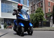 Yamaha Tricity, giorno 6: modalità weekend