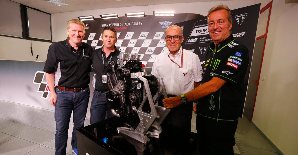 Moto2, dal 2019 Triumph sarà fornitore unico