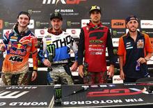 MXGP. Le interviste del GP della Russia