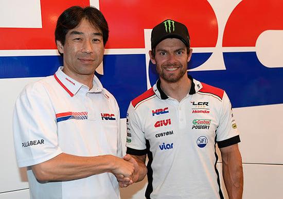 MotoGP, ufficiale: Cal Crutchlow altri due anni con LCR