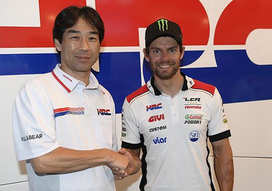 Crutchlow, altri due anni con LCR Honda