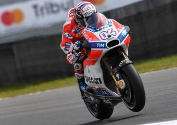 MotoGP 2017. Dovizioso: E' andata bene, sono contento