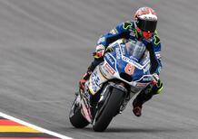 MotoGP 2017. Barbera vola nelle FP2 (bagnate) in Germania