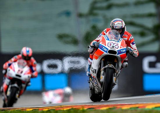 MotoGP: Germania, Danilo Petrucci ancora in prima fila 2° dietro a Marquez