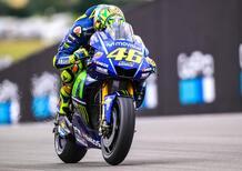 """MotoGP 2017. Rossi: """"Senza il nuovo telaio sarebbe stata una Waterloo"""