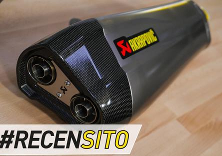 Akrapovic Yamaha TMax. Recensito scarico in titanio