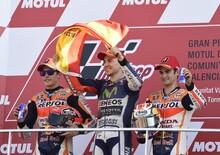 MotoGP, Valencia 2015. Lorenzo: Le Honda mi hanno aiutato