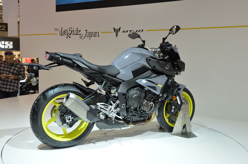 eicma 2015 yamaha mt 10 fiere e saloni. Black Bedroom Furniture Sets. Home Design Ideas