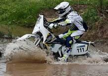 Sylvain Espinasse: alla Dakar con una 125 2 tempi