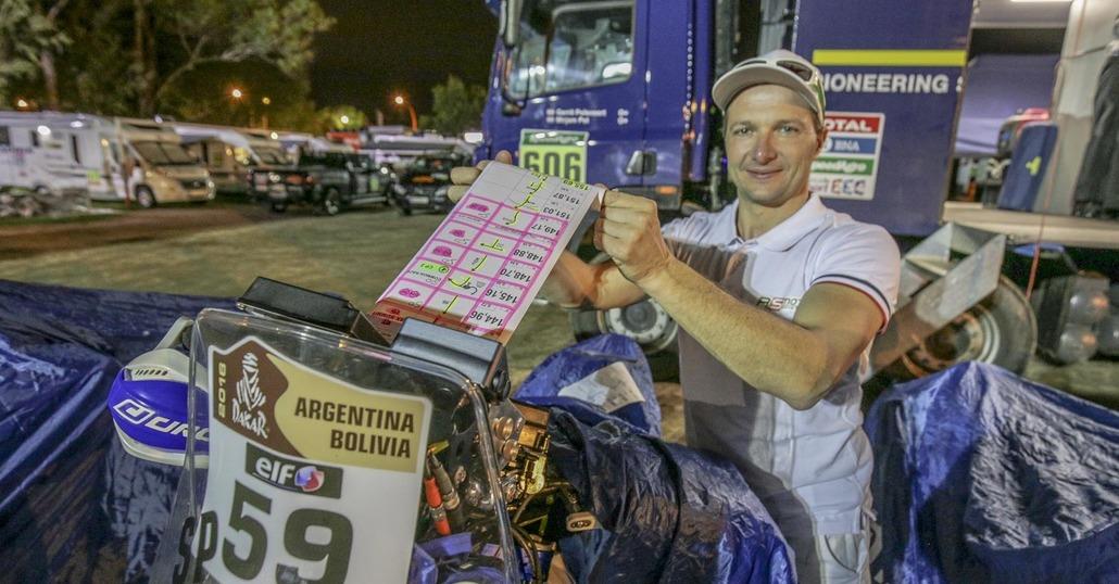Dakar 2016. Simone Agazzi