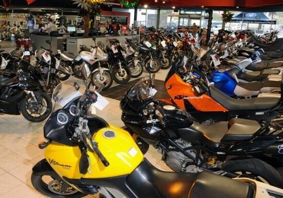 Vendita moto usate: +5% nel 2015