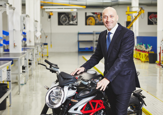 MV Agusta: Raffaele Giusta nuovo Sales & Marketing Director