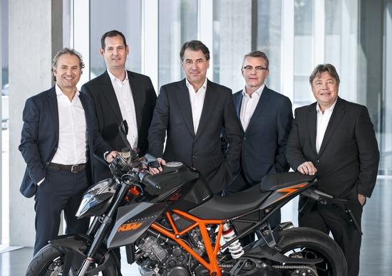 KTM Record di fatturato e vendite