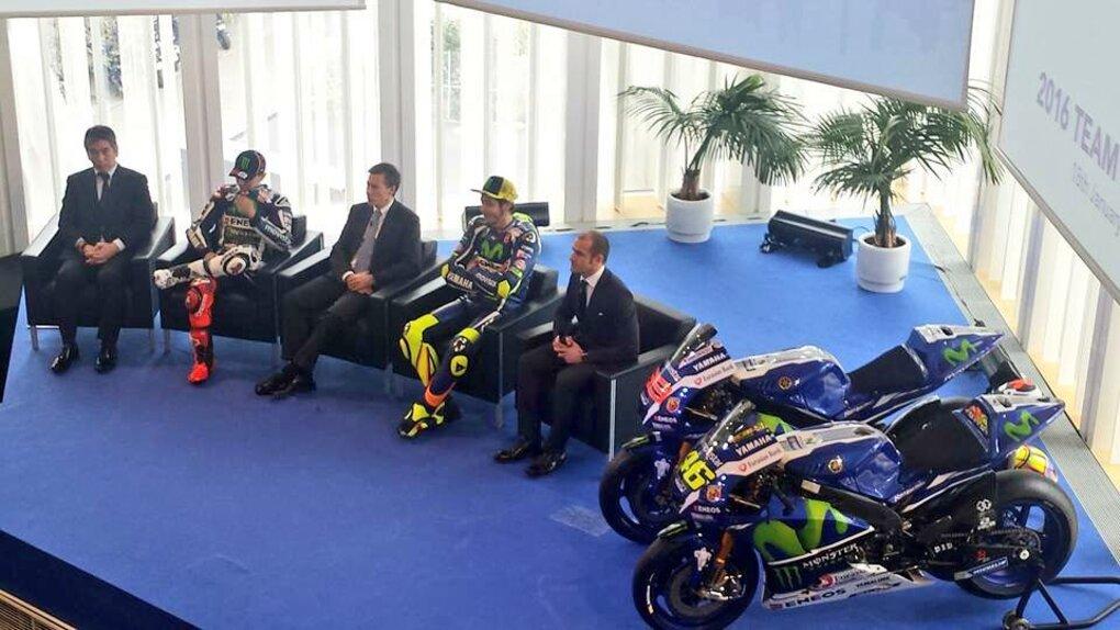 La presentazione del team Yamaha MotoGP e della nuova M1 (5)