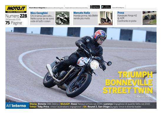 Magazine n°228, scarica e leggi il meglio di Moto.it