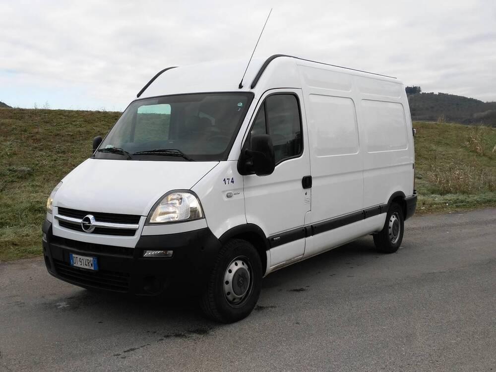Opel Movano 35 2.5CDTI/120PM-TM Com.Vtr Tecs. del 2008 usata a Certaldo