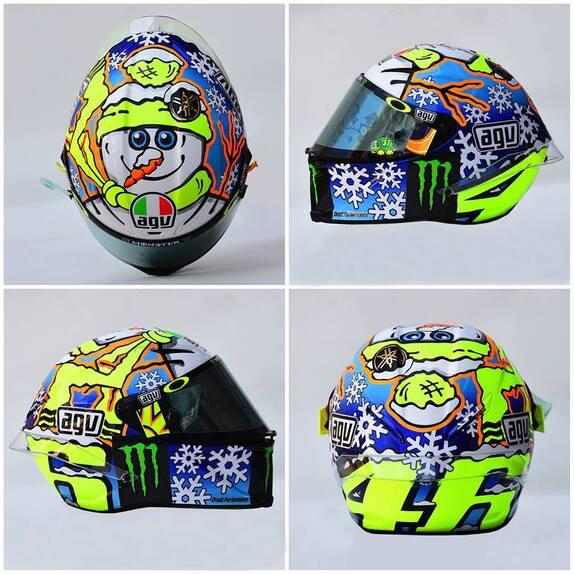MotoGP. Il casco #SepangTest di Valentino Rossi (5)