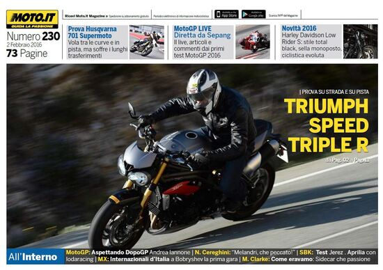 Magazine n°230, scarica e leggi il meglio di Moto.it