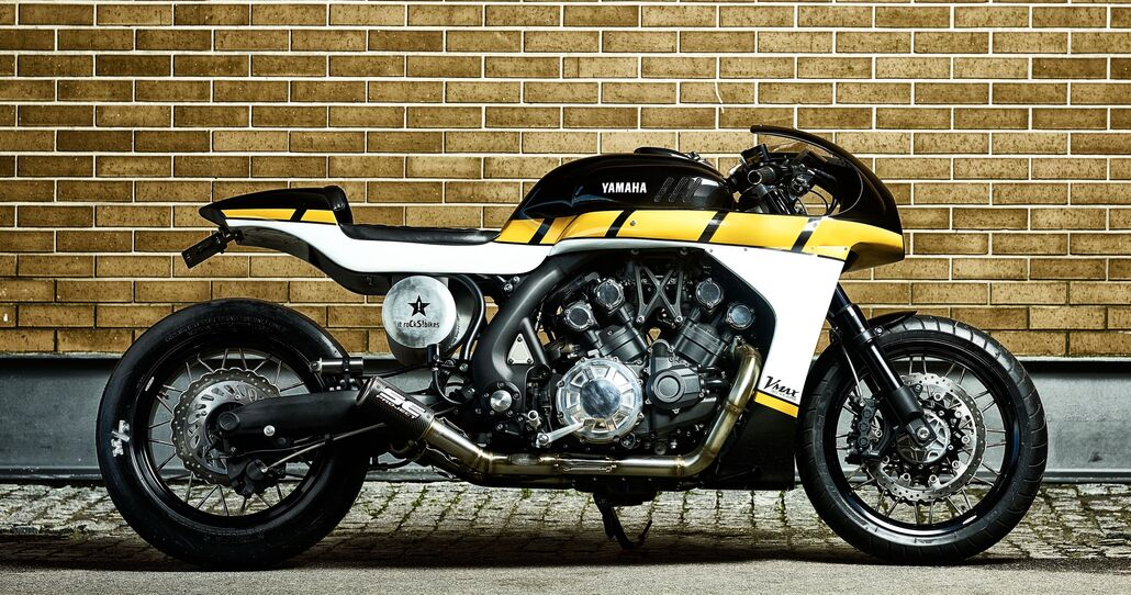 "Yamaha VMAX ""CS_07 Gasoline"" Yard Built"