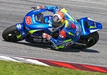 Suzuki: il video dei test di Sepang