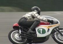 Una Honda 250GP RC166 a Motegi