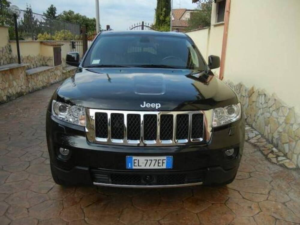 Jeep Grand Cherokee 3.0 CRD 241 CV Overland del 2012 usata a Guidonia Montecelio