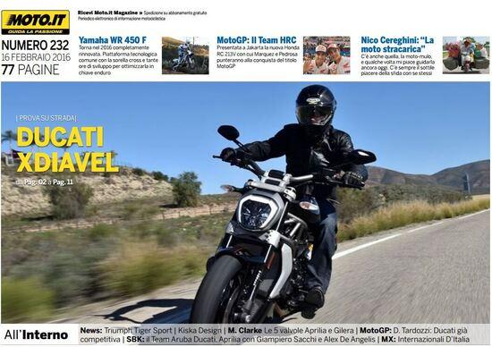 Magazine n°232, scarica e leggi il meglio di Moto.it
