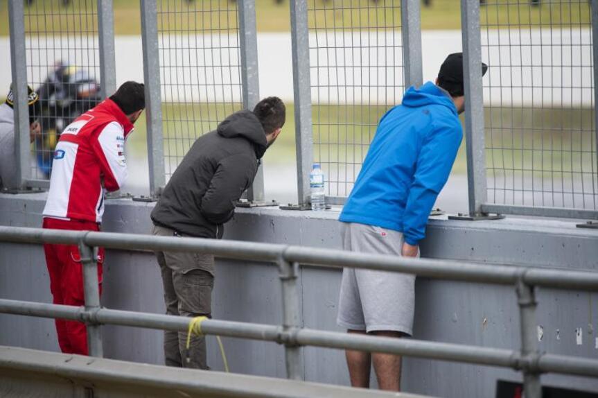 MotoGP, test Phillip Island: prima giornata rovinata dalla pioggia (3)
