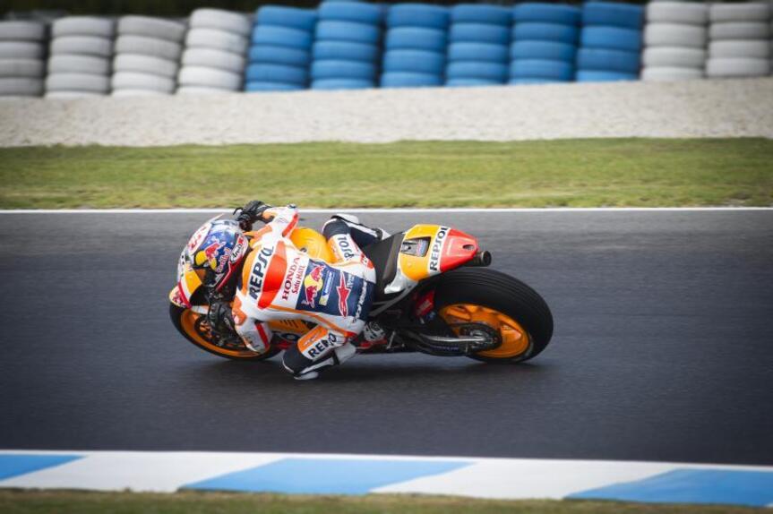MotoGP, test Phillip Island: prima giornata rovinata dalla pioggia (4)