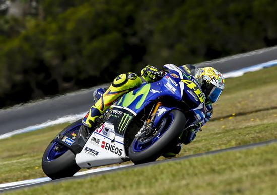 MotoGP. Rossi: Che bella la M1 con le Michelin
