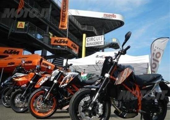 KTM, TNT 2016 a Misano e nelle migliori piste europee