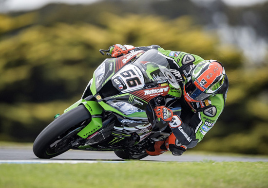 SBK. Phillip Island test. Sykes in testa nel Day 1