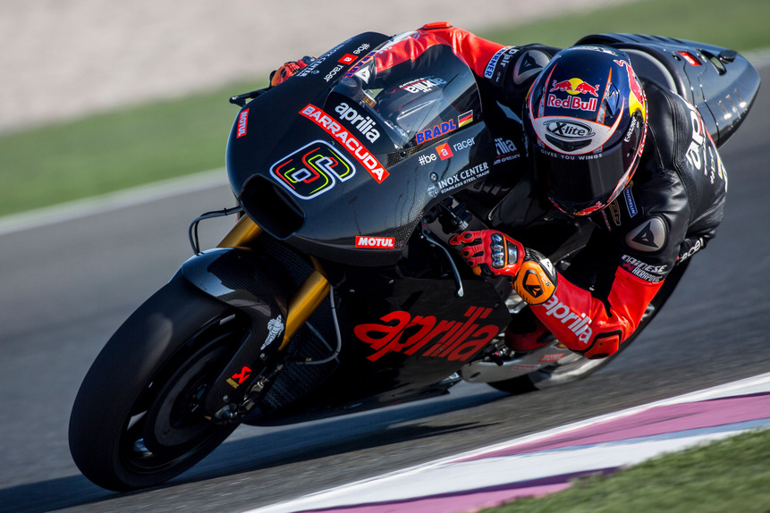 MotoGP. Conclusa la tre giorni di test in Qatar per Aprilia (4)