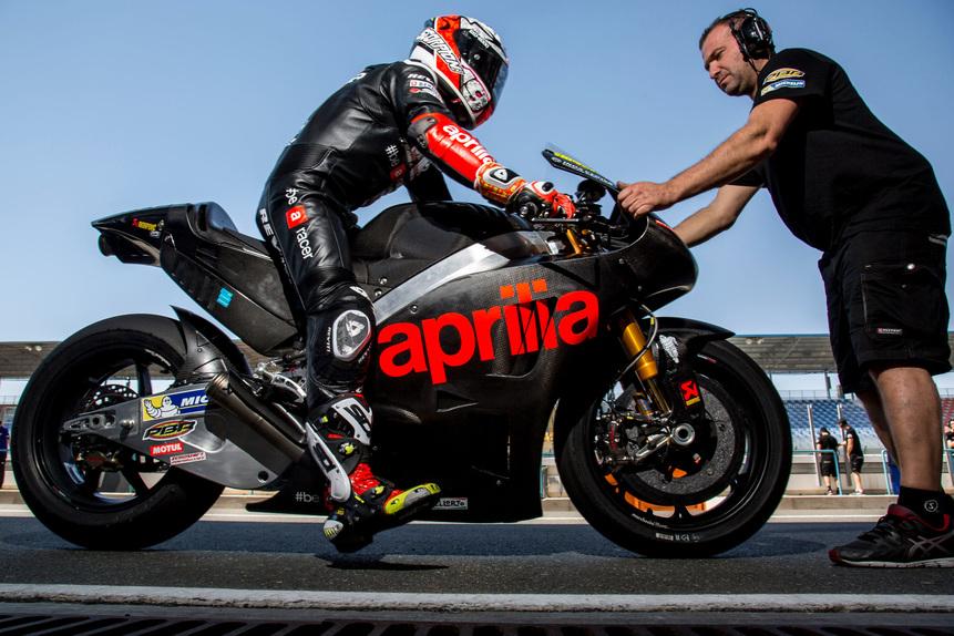 MotoGP. Conclusa la tre giorni di test in Qatar per Aprilia (3)
