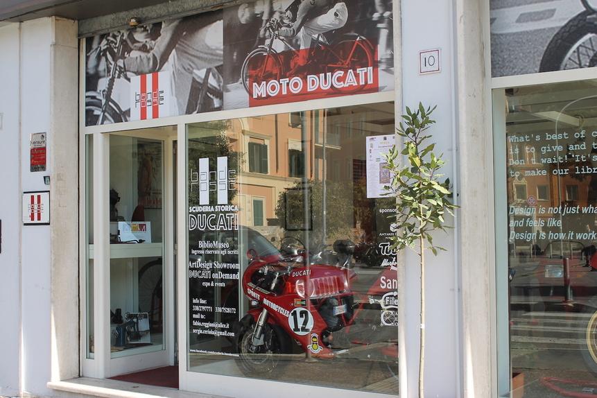 Ducati a Roma: la memoria oltre la storia  (2)