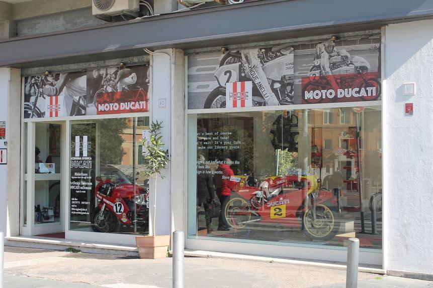 Ducati a Roma: la memoria oltre la storia  (4)