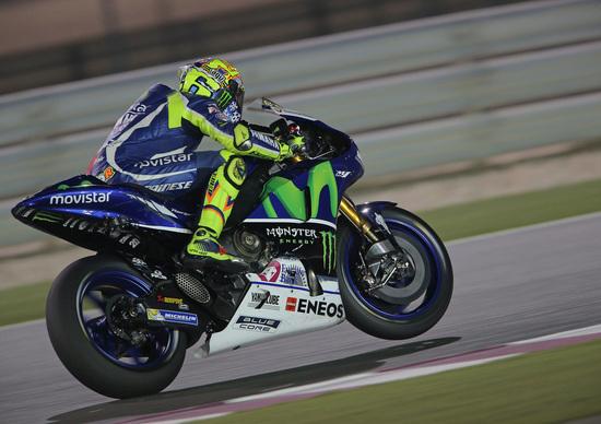 MotoGP. Qatar test, Day3. Rossi: Passo gara simile a Lorenzo