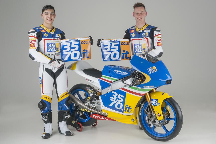 Presentato oggi il 3570 Team Italia Moto3 (3)