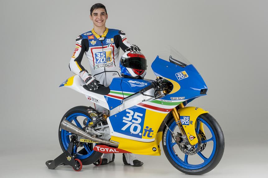 Presentato oggi il 3570 Team Italia Moto3 (4)