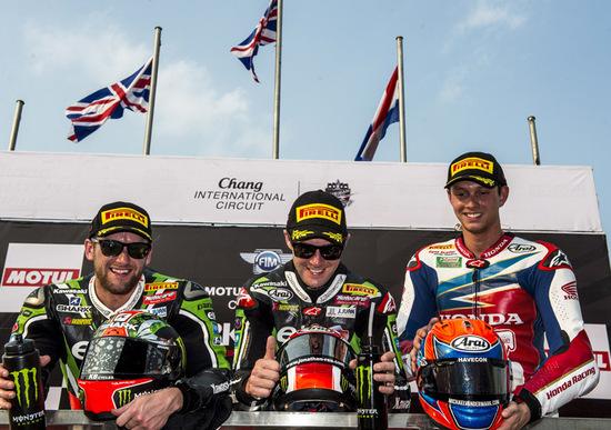SBK 2016. GP Thailandia. Gara 1. I commenti dei piloti