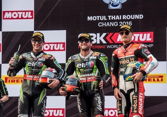 SBK 2016. GP Thailandia. Sykes vince gara 2 a Buriram