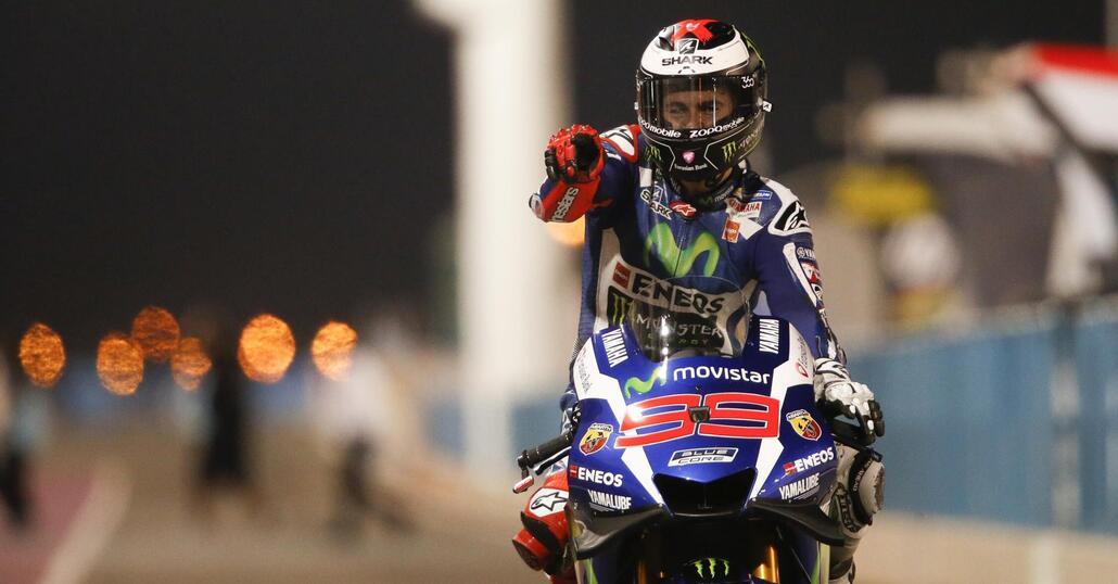 MotoGP 2016. Lorenzo vince il GP del Qatar. Rossi 4°