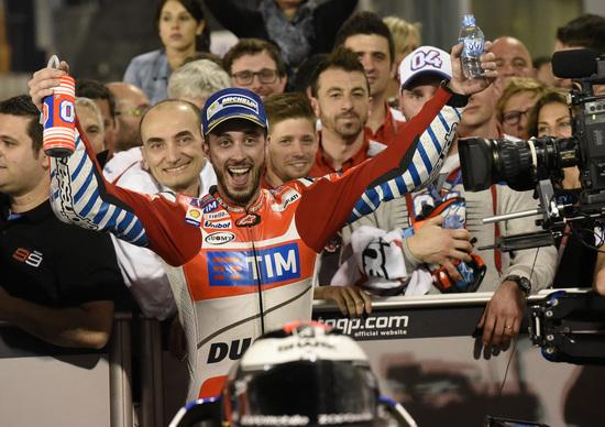 MotoGP 2016. Qatar GP. Dovizioso: Che goduria in rettilineo